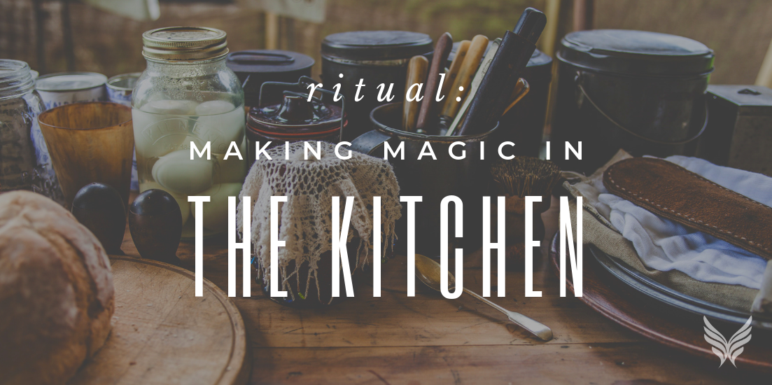 RITUAL: Making Magic in Your Kitchen Blog Header Image