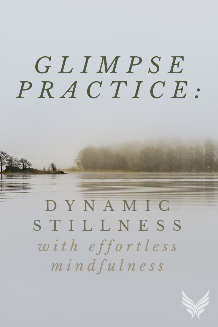 Glimpse Practice: Dynamic Stillness with Effortless Mindfulness Blog Pinterest
