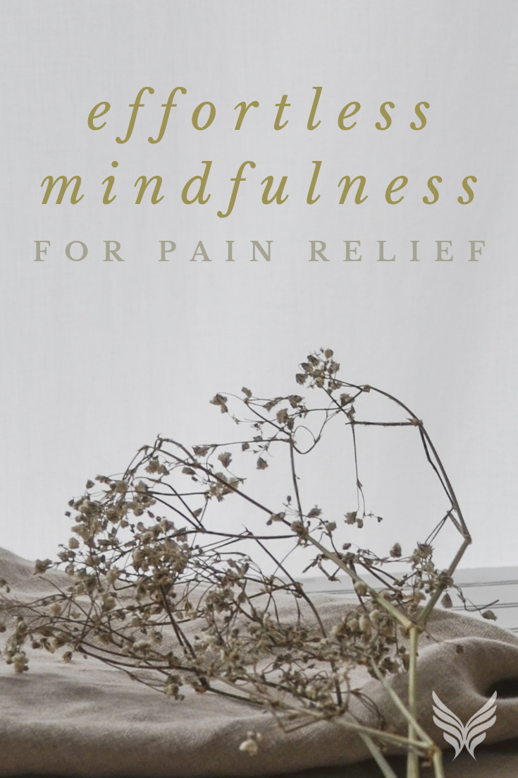 Effortless Mindfulness Pain Relief Pinterest