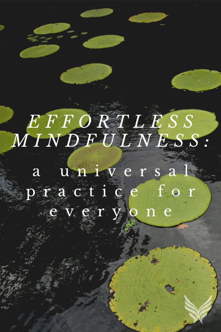 Effortless Mindfulness: A Universal Practice for Everyone Blog Pinterest