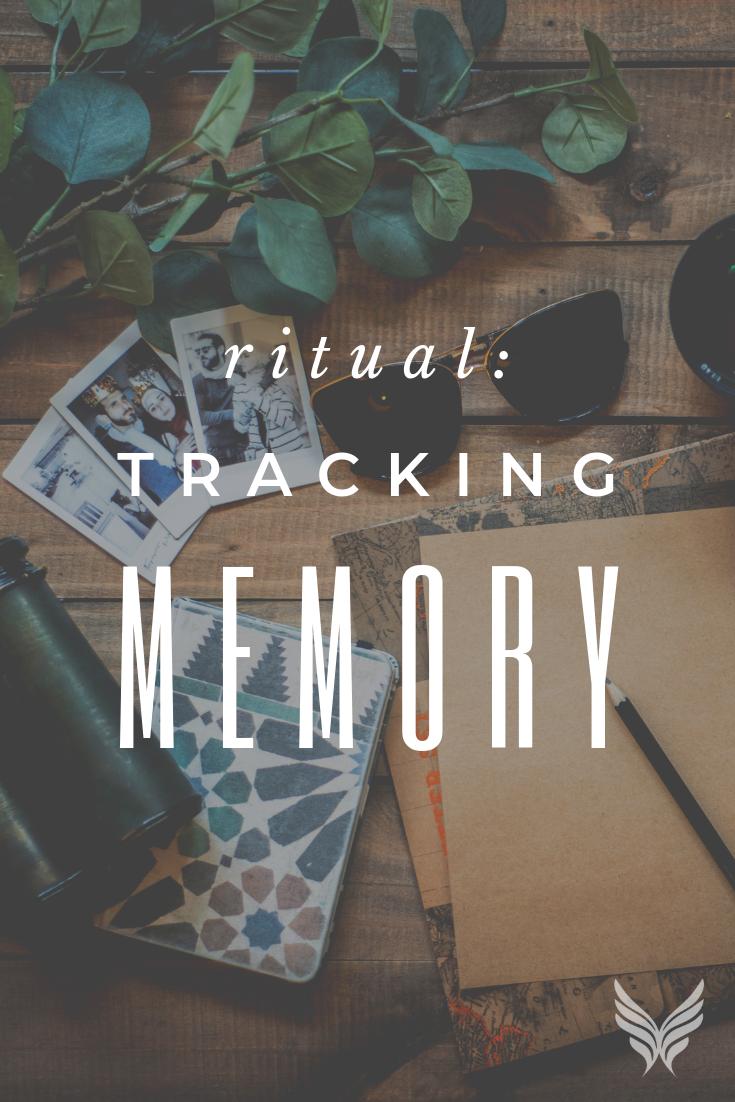 Ritual: Tracking Memory Pinterest