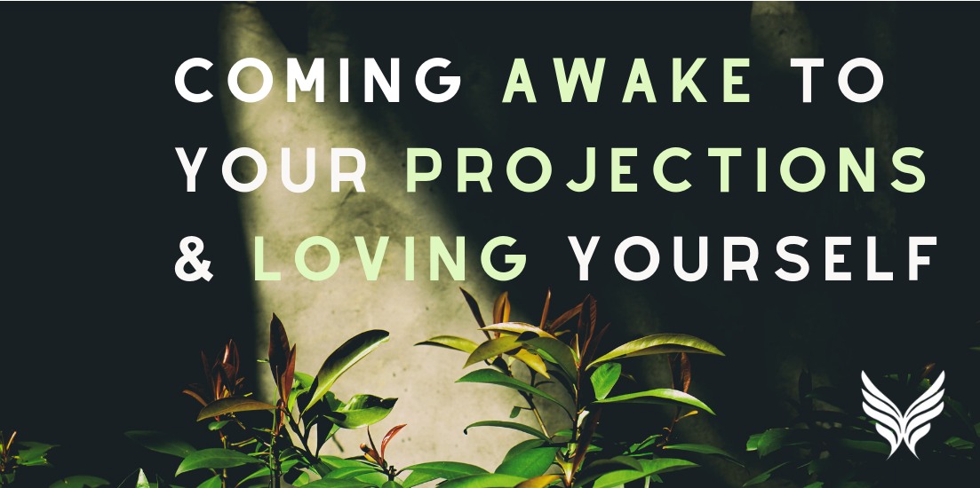 Coming Awake Loving Yourself Header Image
